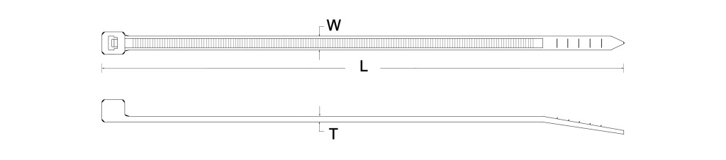 SPPIA's high temp. resistance cable tie